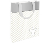 Nekupto Gift paper bag 11 x 17.5 x 8 cm Angel for happiness 002 IE