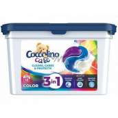 Coccolino Care Cleans, Cares & Protects 3 in 1 washing capsules for colored laundry 18 doses 486 g