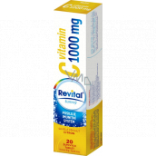 Revital Vitamin C Lemon food supplement for normal immune system function 1000 mg 20 effervescent tablets