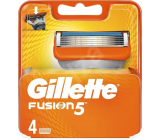Gillette Fusion spare head 4 pieces