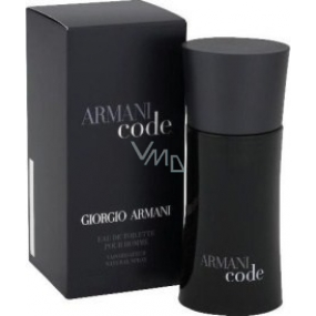 Giorgio Armani Code Men EdT 75 ml eau de toilette Ladies