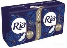 Ria Ultra Silk Night intimní vložky s křidélky 16 kusů