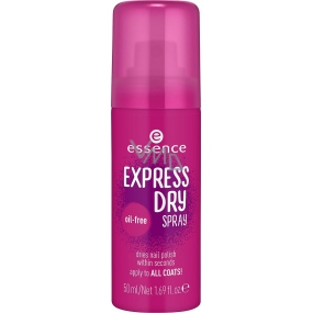 Essence Express Dry Spray sušící sprej na nehty 50 ml