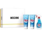 Moschino Fresh Couture EdT 50 ml men's eau de toilette + 100 ml shower gel + 100 ml body lotion, gift set