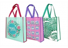AAH Shopping bag with imprint 38x38x10cm Patterns 0124