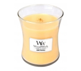 WoodWick candle glass small Honeysuckle 0715