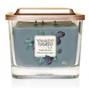 Yankee Candle Dark Berries Elevation Medium Glass 3 Wicks 347 g