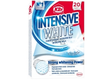 K2r Intensive White Unique Whitening Wipes Against Gray Underwear and Returns Vibrant White Color to 20 Wipes