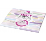 Dermacol Matt Control matting papers for combination and oily skin 100 pieces
