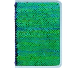 Albi Diary 2020 weekly sequin Green 19 x 13 x 0.7 cm