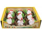 Nests with chicken and eggs 5.5 cm 1 piece