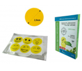 Trixline Repellent mosquito repellent sticker yellow 6 pieces TR624