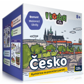 Albi In a nutshell! Plus Czech fifteen-minute game to practice memory and knowledge, recommended age 8+
