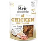 Brit Jerky Dried meat treats with insects and chicken for adult dogs 80 g