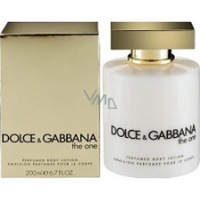 Dolce & Gabbana The One Female Body Lotion 200 ml