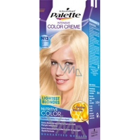 Schwarzkopf Palette Intensive Color Creme hair color shade N12 Ice light fawn