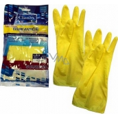 Clanax Standard Latex gloves L-9 large 1 pair