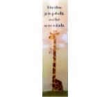 Albi Záložka Flip Flop 3D Žirafa, S knížkou je to pohoda,...