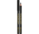 Dermacol 12h True Color Eyeliner wooden eye pencil 08 Black 2 g