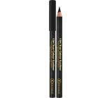 Dermacol 12H True Color Eyeliner wooden pencil 08 Black 2 g