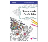 Ditipo Relax For free relaxing coloring pages with quotes 16 pages