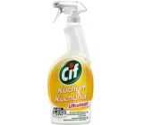 Cif Ultrafast Kuchyně Čisticí prostředek na nečistoty v kuchyni rozprašovač 750 ml