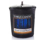 Yankee Candle Dreamy Summer Nights - Zasněné letní noci vonná svíčka votivní 49 g