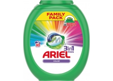 Ariel 3in1 Color Laundry Caps protect and revive the colors of your garments 80 pieces
