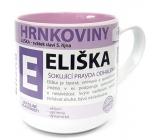 Nekupto Hrnkoviny Mug with the name Eliška 0.4 liters