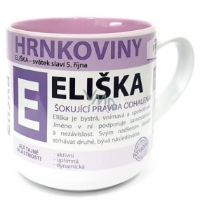 Nekupto Hrnkoviny Mug with the name Eliška 0.4 liters