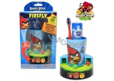 Angry Birds Pasta na zuby pro děti 45 ml + zubní kartáček + časovač 2.min.- doba čištění zoubků, dárková sada, expirace 9/2016
