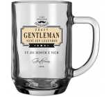 Do not Buy The Real Gentlemen's League Beer glasses GENTLEMAN is not just a legend, you are one of them.