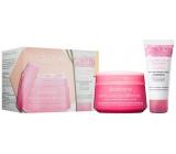 Collistar Crema Carezza dell Amore body cream 200 ml + Doccia Crema dell Amore bath and shower gel 50 ml, cosmetic set