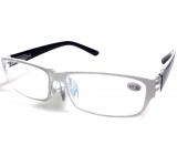 Glasses diop.plast + 1.5 white black side MC2062