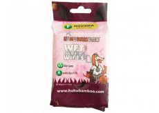 Huhu Bamboo Wet cleaning wipes with basil oil for pets, ear care 30 pieces