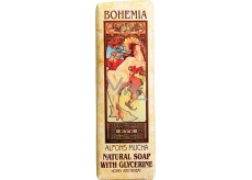 Bohemia Gifts & Cosmetics Alfons Mucha Honey and grain toilet soap 125 g