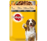 Pedigree Adult with chicken and vegetables in juice pouch 100 g