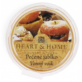 Heart & Home Baked apple Soy natural scented wax 27 g