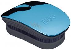 Ikoo Pocket Metallic Kapesní kartáč na vlasy podle čínské medicíny metalický tyrkysově-černý