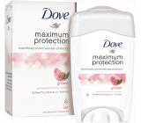 Dove Maximum Protection Pomegranate and lemon verbena antiperspirant deodorant stick for women 45 ml