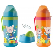 Rotho bottle baby - socket with valve 360ml 12mes. + Blue