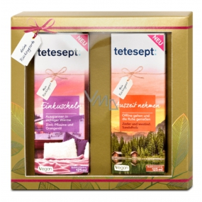 Tetesept Your Rest Shower Gel 2 x 125 ml cosmetic set