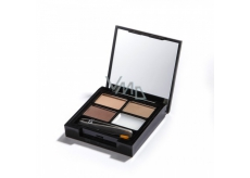 Makeup Revolution Eyebrow trimming set, Light Medium shade