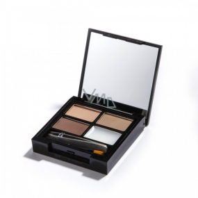 Makeup Revolution Focus & Fix Brow Kit Eyebrow Adjustment Light Medium 5.8 g