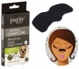 Purity Plus Activated Charcoal Activated charcoal nose tape for deep skin cleansing 6 pieces