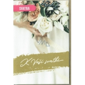 Nekupto Wedding card 115 x 170 mm G 21 3450 J