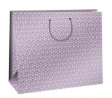 Ditipo Gift paper bag 38.3 x 10 x 29.2 cm pink, white ornaments