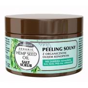 GlySkinCare Organic hemp oil salt peeling for dry skin 400 ml