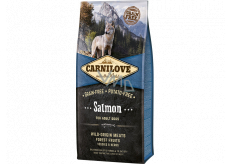 Carnilove Adult Salmon super premium complete food for adult dogs of all breeds 12 kg