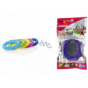 Trixline Repellent waterproof bracelet - rubber band against ticks Eucalyptus1 piece, TR 248 random color selection